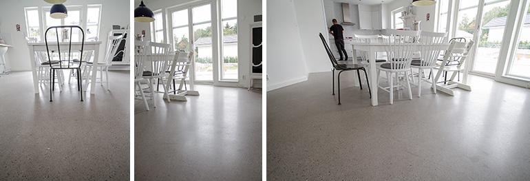 Superfloor Silber Betonboden schleifen