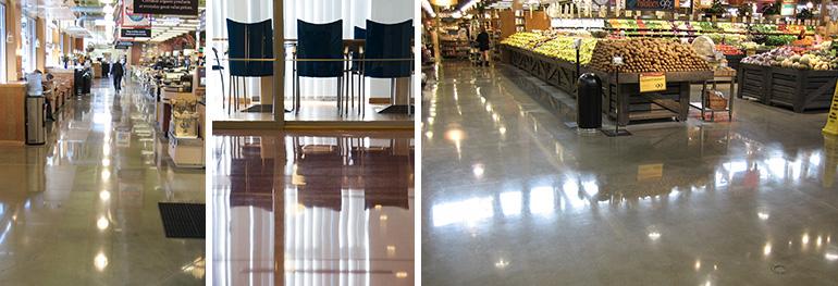 Superfloor Bronze Betonboden schleifen und polieren