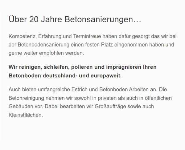 betonboden 1 aus 86150 Augsburg