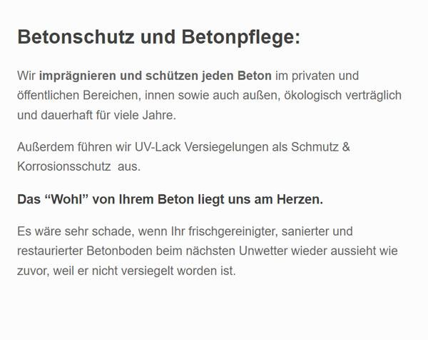 betonschutz in  Nordrhein-Westfalen